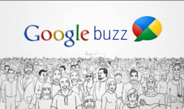 Dibujo de la tapa de presentación applicativ Buzz de Google